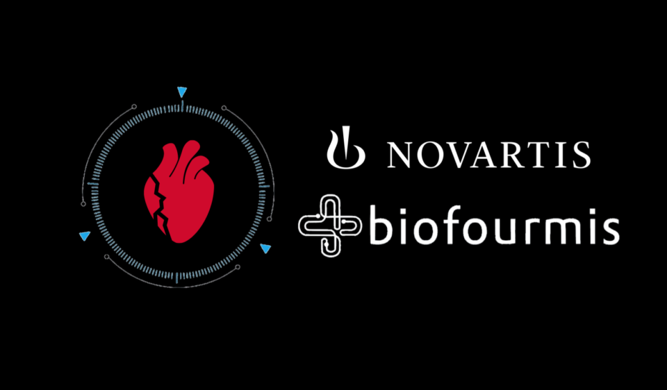 Post picture, complete with Biofourmis and Novartis logos